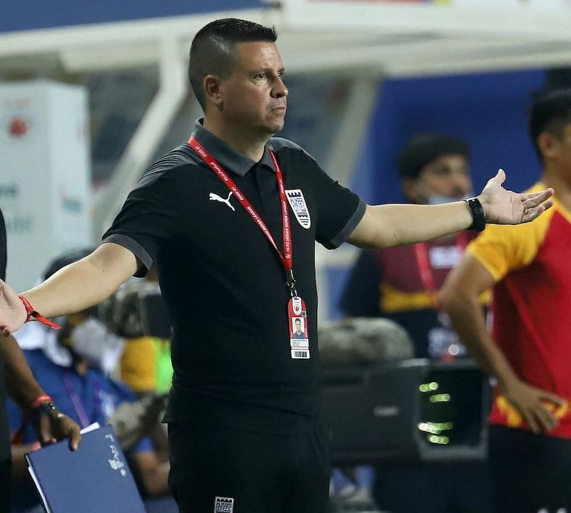 Mumbai City FC coach Sergio Lobera was pleased with his side