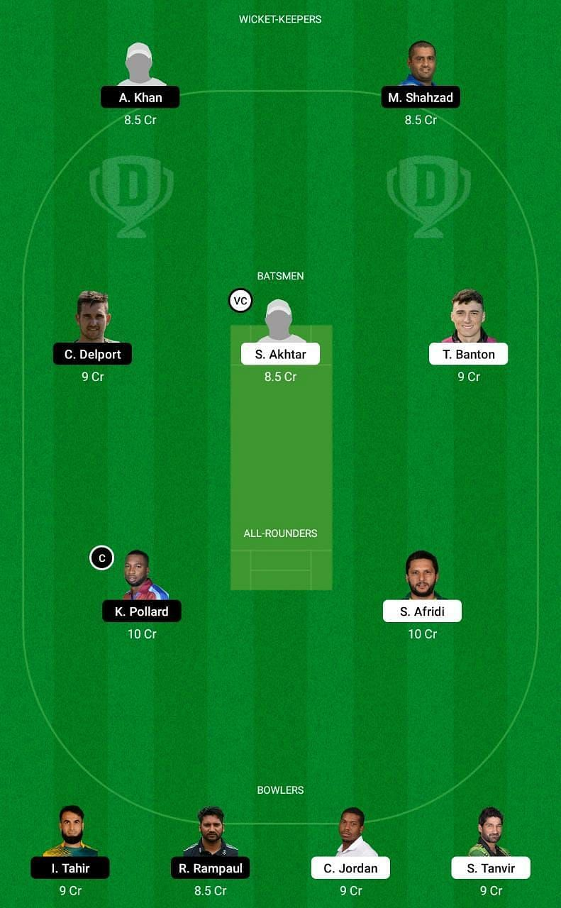 QAL vs DG Dream11 Abu Dhabi T10