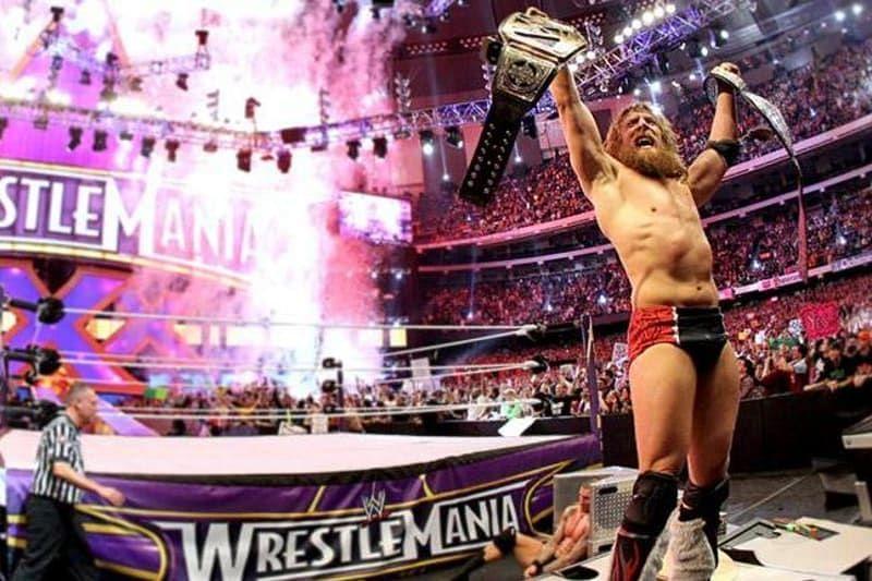 Daniel Bryan WrestleMania XXX - Photo Credit: WWE via Bleacher Report