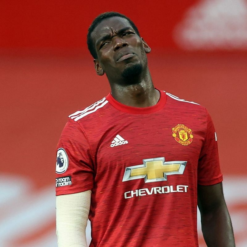 Paul Pogba for Manchester United.