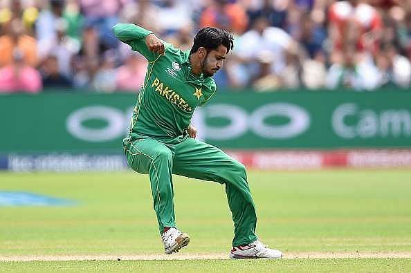 Hasan Ali was the highest wicket-taker in the 2017 Champions Trophy.