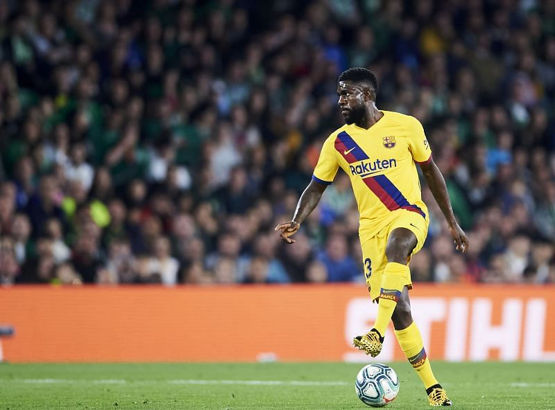 Samuel Umtiti has not had it easy at Barcelona
