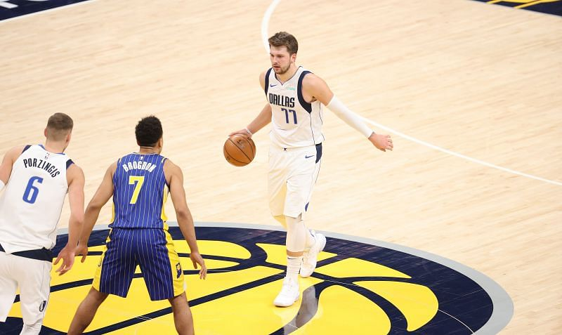 Dallas Mavericks Luka Doncic commands play