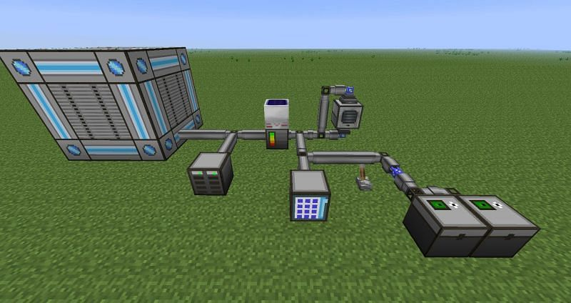 Big reactor in Minecraft