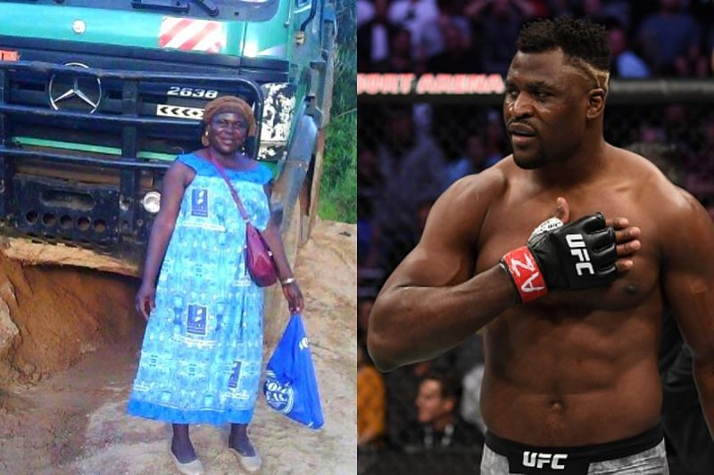Francis Ngannou opened up about his struggles on Instagram.