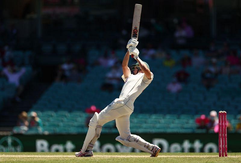 Cameron Green scored his first half-century in Test cricket in Sydney.