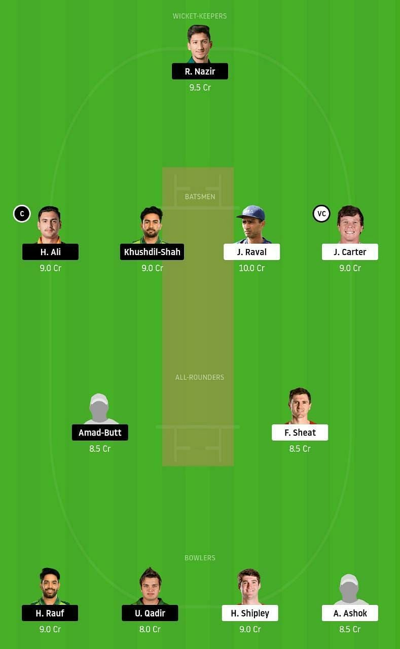 NZ-XI vs PK-A Dream11 Tips