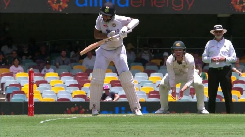 Cheteshwar Pujara copped as many as 10 blows on Day 5 at the Gabba but did not throw away his wicket