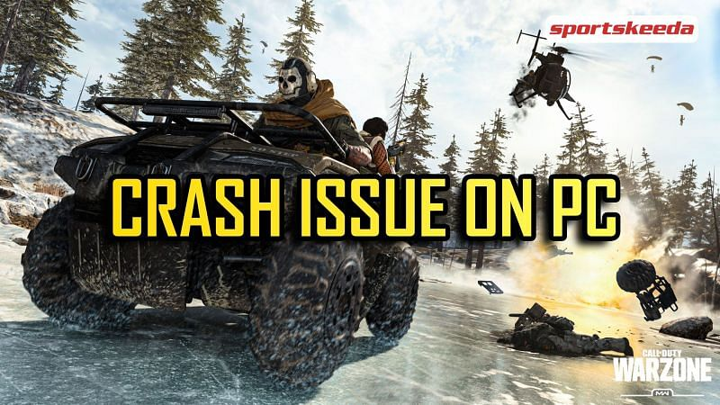 Crash fixes for Call of Duty: Warzone on PC
