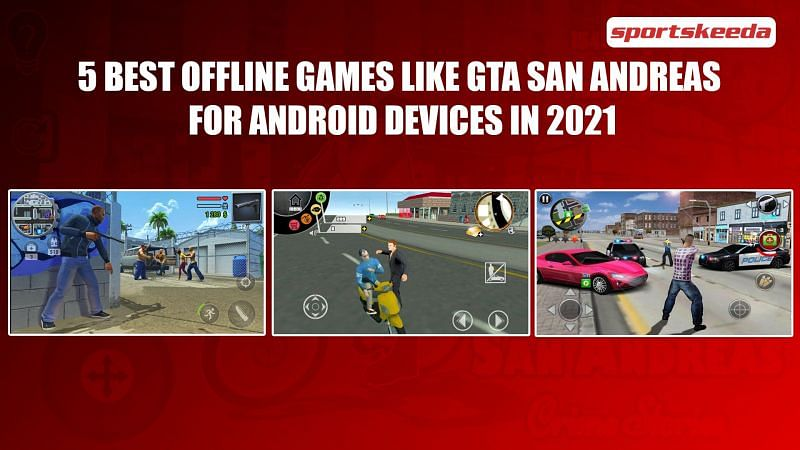 There are many offline games like GTA San Andreas in 2021 (Image via Sportskeeda)