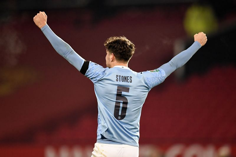 John Stones backed up an imperious defensive showing with an unlikely goal
