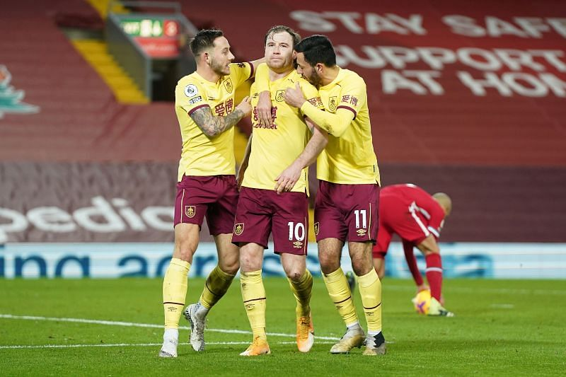 Burnley picked up an invaluable three points