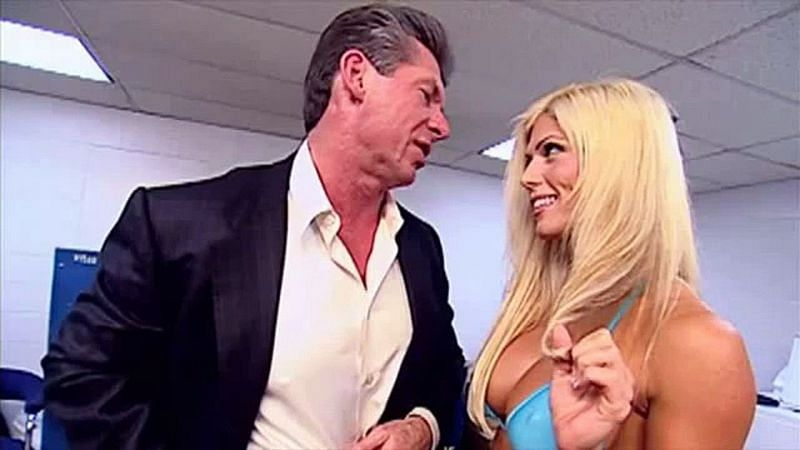 Vince McMahon was involved in plenty of romantic storylines