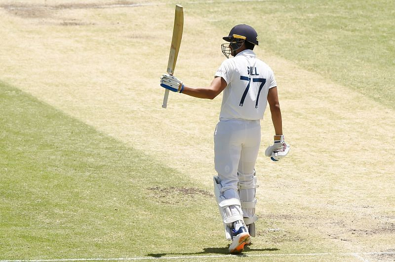 Shubman Gill played a classy knock on the final day of the Brisbane Test