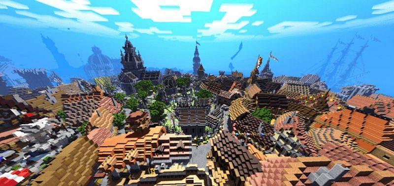 ESTN Shaders (Image via Minecraft)