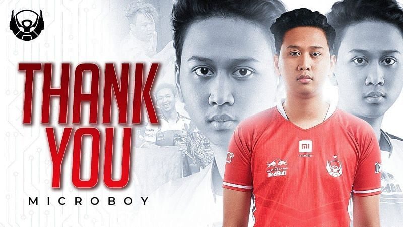 Microboy has parted ways with BTR