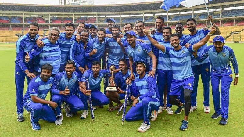 Karnataka have won the last two editions of the Syed Mushtaq Ali Trophy