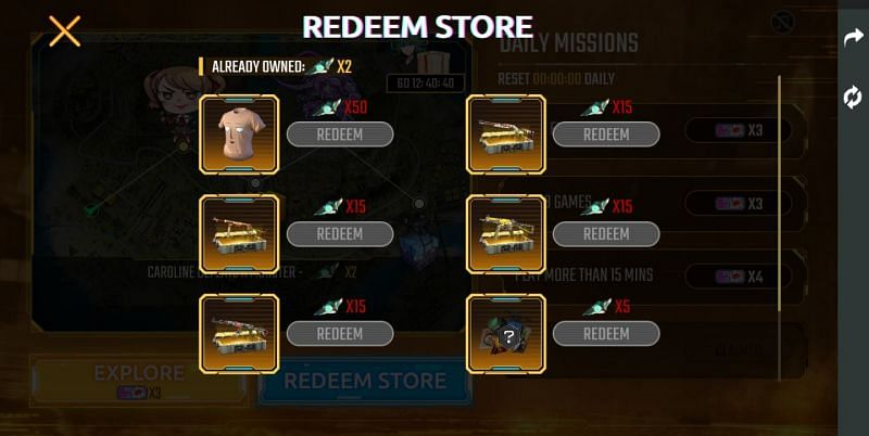 Redeem Store