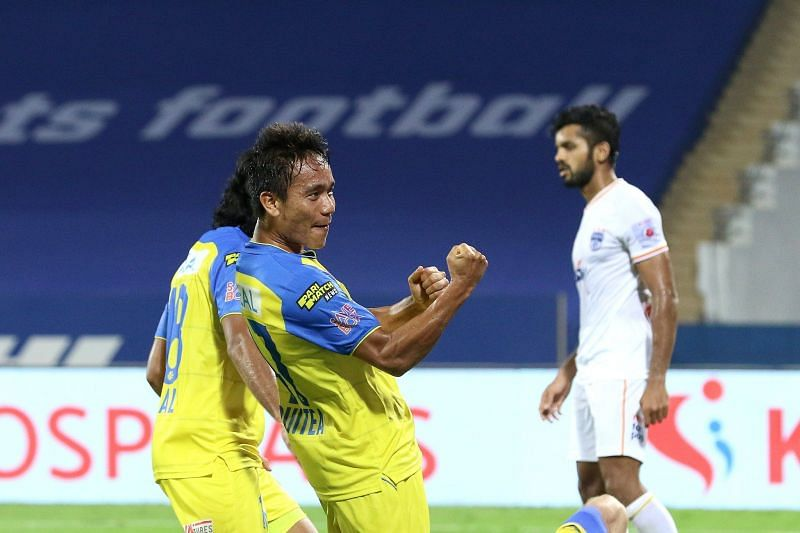 Kerala Blasters FC come into this game with a memorable 2-1 win over Bengaluru FC. (Image: Kerala Blasters FC)