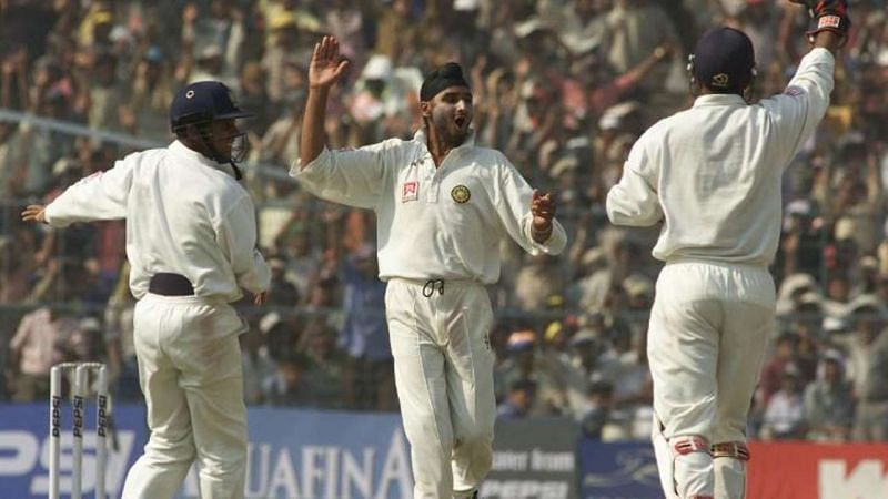 Harbhajan was the star of the series in 2001