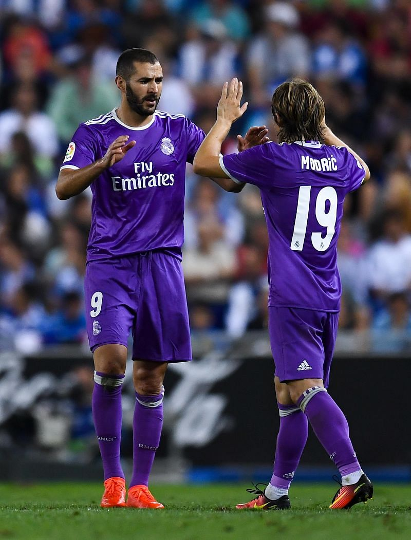 Benzema and Modric are two of Real Madrid