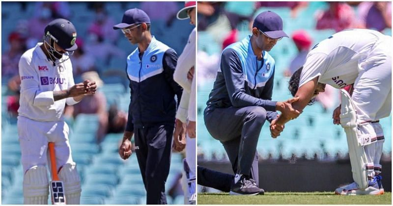Along with Rishabh Pant, Ravindra Jadeja was also injured, with the latter getting hit on his thumb.