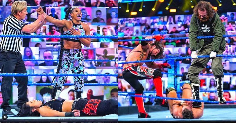 SmackDown Results: Former Universal Champion returns; Belair wins Grudge Match