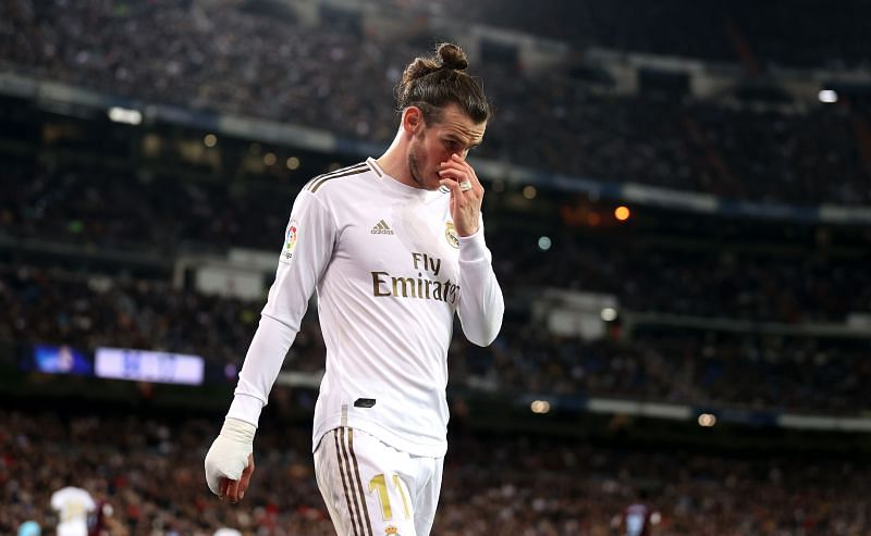 Gareth Bale joined Real Madrid from Tottenham.