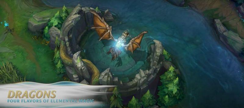 Wild Rift Dragons (Image via Riot Games)
