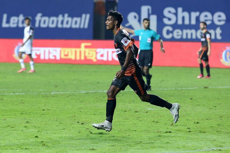 Devendra Murgaonkar acted as a super-sub for FC Goa (Image Courtesy: ISL Media)