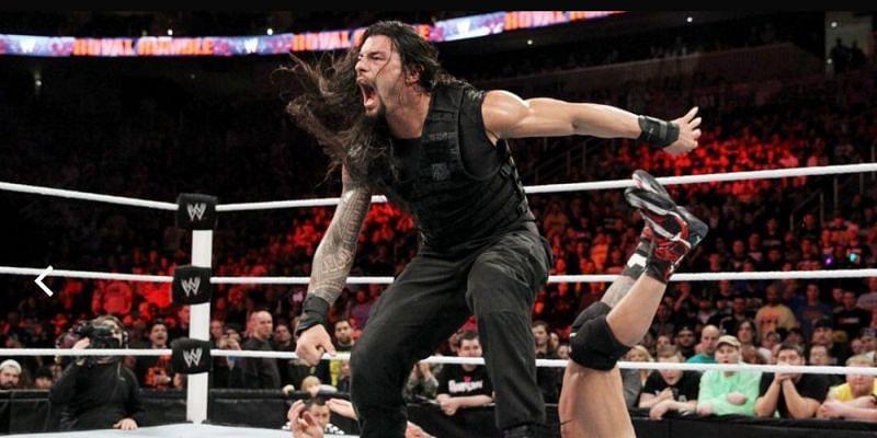 रोमन रेंस ने 2014 Royal Rumble मैच में 12 सुपरस्टार्स को एलिमिनेट किया