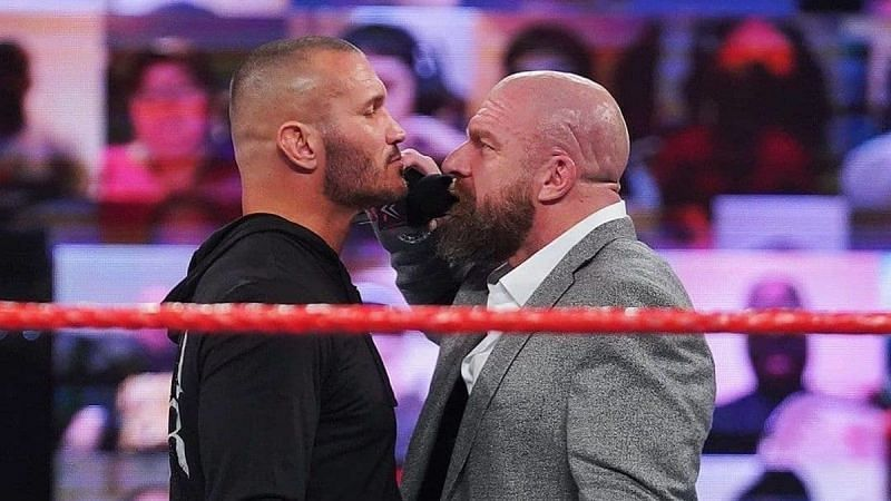 Randy Orton and Triple H