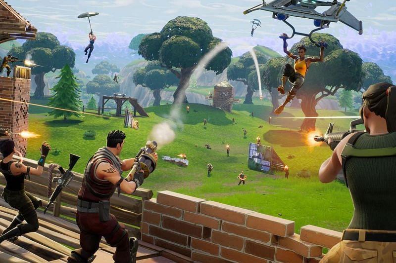 Grenade Launchers in Fortnite (Image via Epic Games)