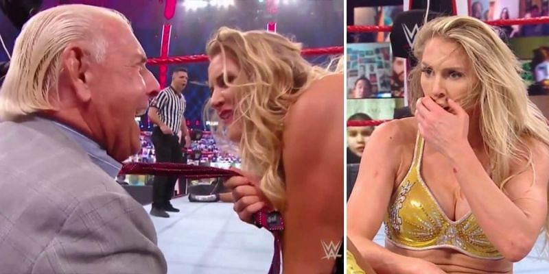 Ric Flair cost Charlotte Flair her match on RAW.