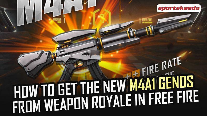 new M4A1 Genos