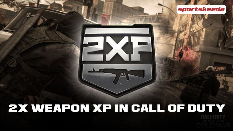 2x Weapon XP available for players on Call of Duty: Black Ops Cold War and COD: Warzone