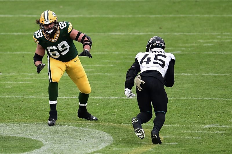 The Green Bay Packers Will Be Without Their Sturdy Tackle David Bakhtiari For The Rest Of The Season.