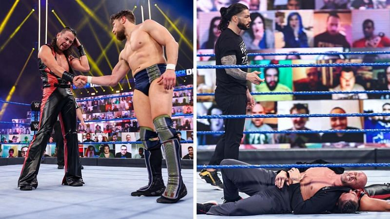 An interesting episode of SmackDown