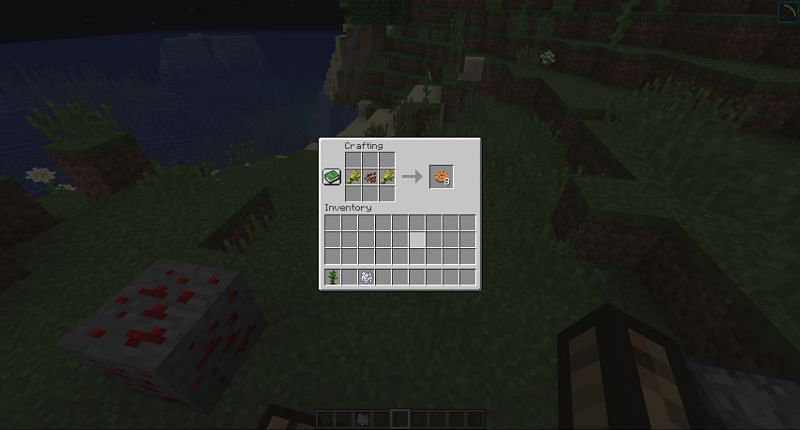Crafting cookies in Minecraft