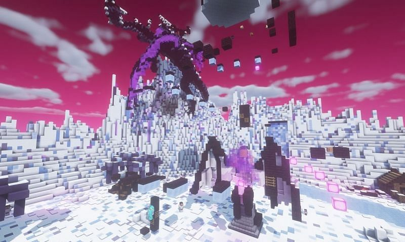 Mox MC is a Minecraft server with great seasonally themed parkour maps