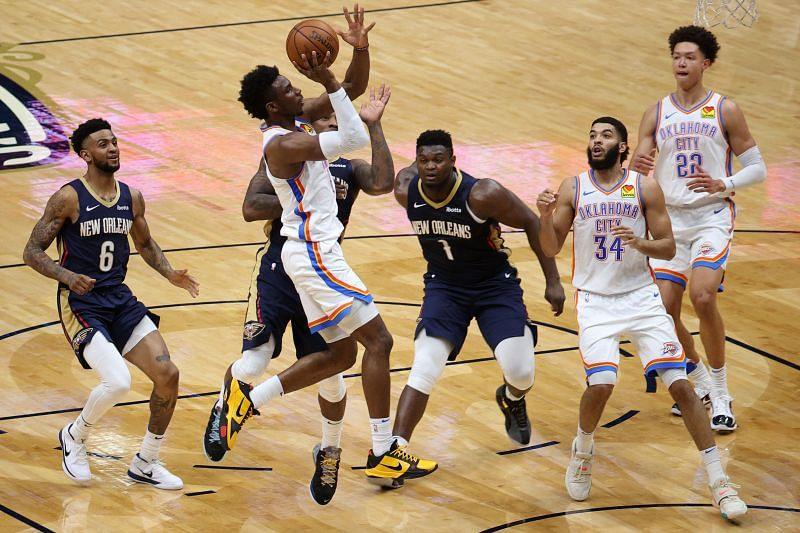 The Oklahoma City Thunder battle past the New Orleans Pelicans