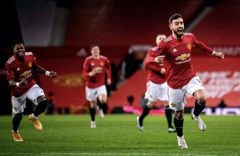 Bruno Fernandes scored a brilliant free-kick to win the game against Liverpool