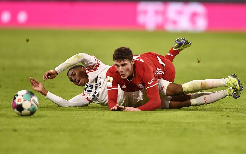 Mainz went into the half-time break 2-0 up