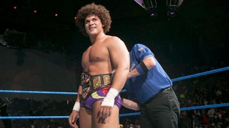 Carlito held the United States Championship in 2004