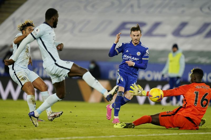 Maddison added Leicester City