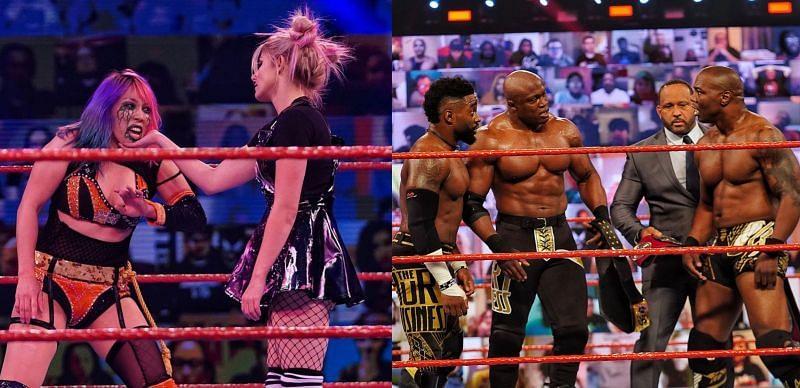 WWE RAW के वीडियो हाइलाइट्स