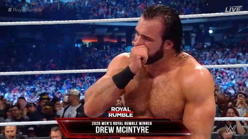 Royal Rumble विजेता ड्रू मैकइंटायर