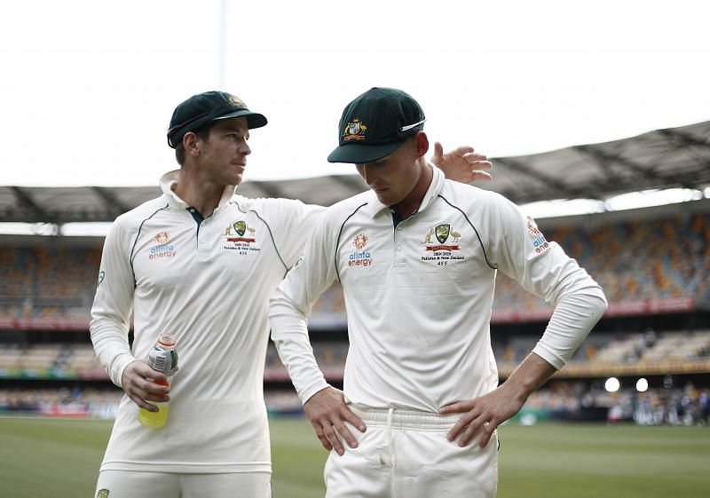 Tim Paine took a dig at Shane Warne over his comments on Marnus Labuschagne.