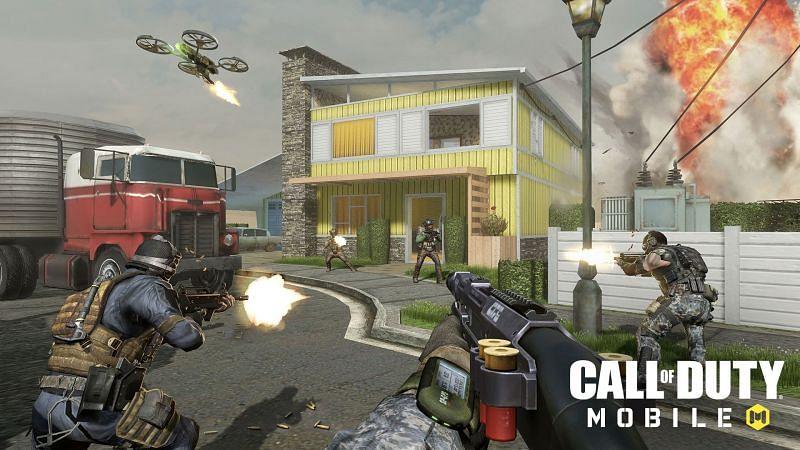 COD Mobile has an amazing armory (Image via Gamesradar)