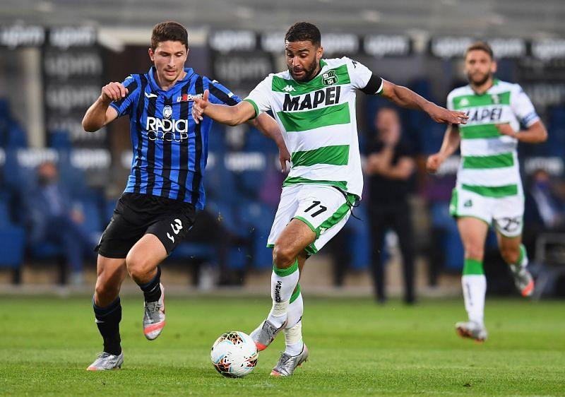 Atalanta take on Sassuolo this weekend